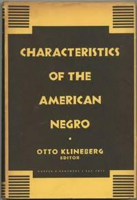 Characteristics of the American Negro