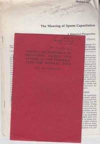 116 offprints dating from 1940-1980 by Min Chueh Chang from the Robert H. Foote collection(researcher in In Vitro fertilization at Cornell) by Min Chueh Chang  M.C. Chang with Gregory Pincus and others