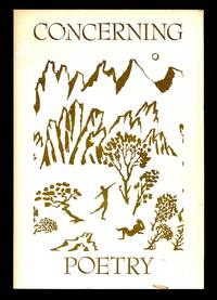 image of Concerning Poetry Volume 14, Number 1