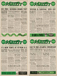 image of Daily Variety (Collection of twelve original entertainment magazines, for 1962)