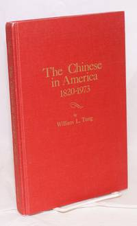 The Chinese in America; 1920-1973, a chronology & fact book