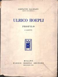 Ulrico Hoepli. Profilo.