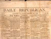Daily Republican. Lynchburg, VA., Tuesday Morning Dec 1, 1863