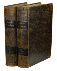 An American Dictionary of the English Language by  Noah Webster - First Edition - 1828 - from Burnside Rare Books, ABAA (SKU: 140938425)