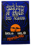 View Image 1 of 2 for Original poster for Chuck Berry, Sir Douglas Quintet, & Boz Scaggs, Dec. 18 & 19 at Pepperland Inventory #140939101