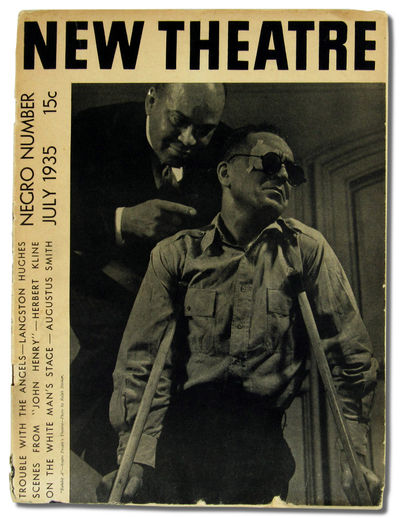 NY: New Theatre League and New Dance League, 1935. Paperback. Very good. 35pp. Wraps tanned and edge...