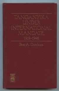 image of Tanganyika Under International Mandate, 1919-1946