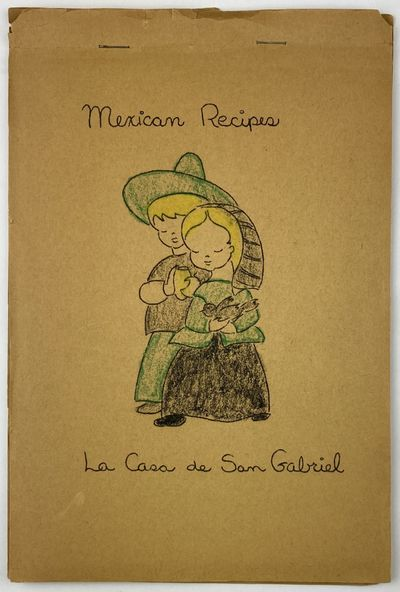 leaves, printed rectos only. Original pictorial wrappers, stapled at top edge. Rear cover detached,...