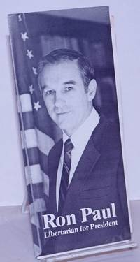 image of Ron Paul. Libertarian for President