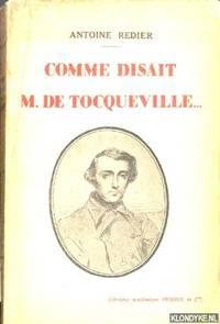 Comme disait Monsieur de Tocqueville. . . *SIGNED*