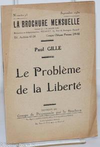 image of Le Problème de la Liberté