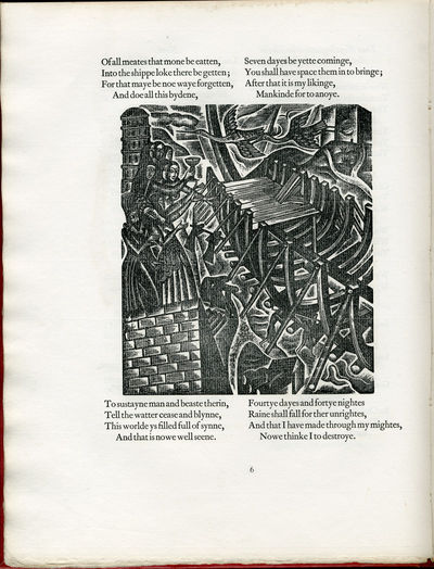 Waltham St. Lawrence, Berks.: Golden Cockerel Press, 1927. Quarto. Polished red buckram. Illustrated...
