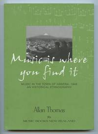 image of Music is where you find it: Music in the town of Hawera, 1946. An Historical Ethnography