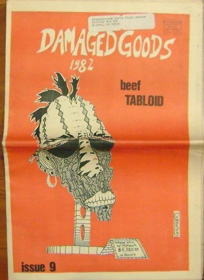 Omaha: Beef Tabloid, 1982. First edition. Paperback. Very Good. Oversized tabloid style zine publish...