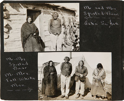 [Various locations in South Dakota, including Pierre, and Oahe, 1928. 230 photographs mounted on alb...
