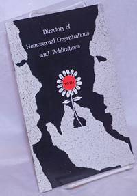 image of Directory of Homosexual Organizations and Publications, 1981-1982 edition