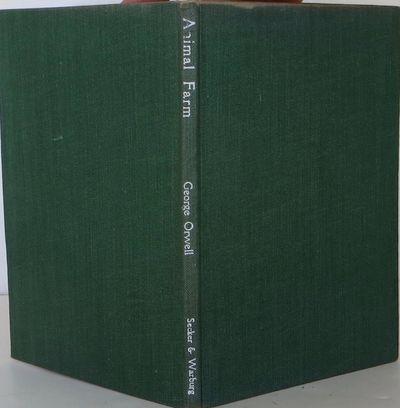 Secker & Warburg, 1945. 1st Edition. Hardcover. Near Fine/Near Fine. Near fine first edition;