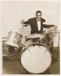 (Press photograph): Wilbur Campbell, Drummer