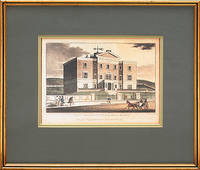 Framed print of Sussex County Hospital.
