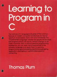 Learning to Program in C
