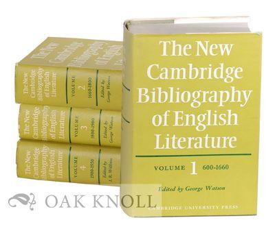 Cambridge: Cambridge University Press, 1974. cloth, dust jackets. thick 8vo. cloth, dust jackets. th...