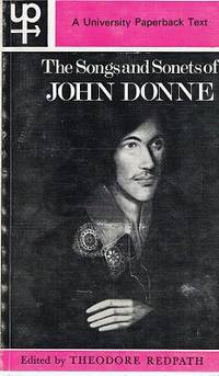 john donnes songs and sonets John donne - songs and sonnets - a new freely downloadable text with a line by  line prose equivalent.