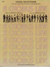 A Chorus Line. Vocal selections