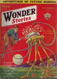 "WONDER Stories: February, Feb. 1932 (""The Time Stream"")"