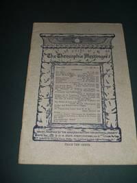 The Theosophic Messenger for June 1911