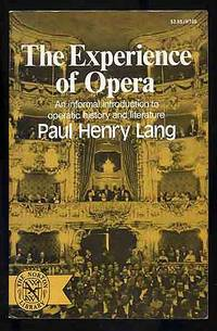 image of The Experience of Opera