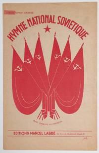image of Hymne national soviétique