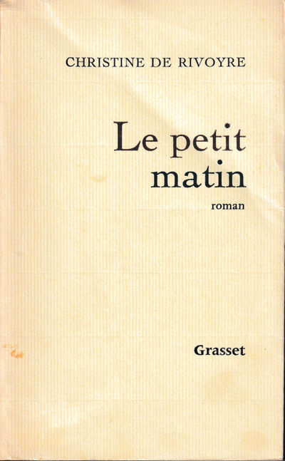 Paris: Grasset, 1968. Paperback. Very good. 297 pp. Light creases and tanning to the spine, light so...