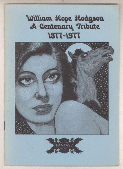 Dagenham, Essex: The British Fantasy Society, 1977. Octavo, pp. 2-15 (pagination includes covers), p...