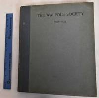 21st Annual Volume of the Walpole Society, 1932-1933