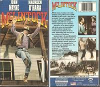 Mclintock [VHS]