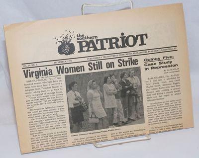 Louisville, KY: SCEF, 1971. 8p., tabloid newspaper format, illus., horizontally folded as issued, li...
