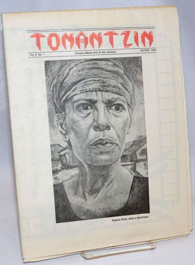 San Antonio, TX: Guadalupe Cultural Arts Center, 1992. 25p., folded tabloid format, illus., lightly ...