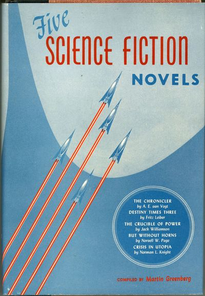 New York: Gnome Press, 1952. Octavo, cloth-backed boards. First edition. An important collection of ...