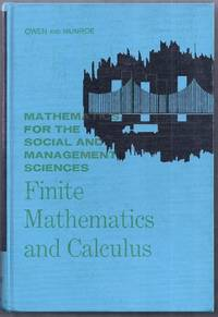 Finite Mathematics and Calculus. Mathematics for the Social and Management Sciences