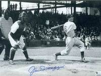 8 X 10 PHOTO BOLDLY SIGNED BY JOE DIMAGGIO, FRAMED WITH CERT [LBC]