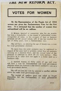 Votes For Women: Every qualified woman should see that she gets the vote, 1918