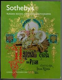 image of Russian Books, Maps and Photographs 27 November 2006