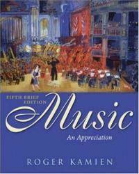 image of Music: An Appreciation Brief Edition with Multimedia Companion