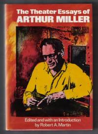 image of The Theater Essays Of Arthur Miller  - 1st Edition/1st Printing