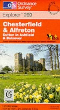 image of Chesterfield and Alfreton (Explorer Maps)