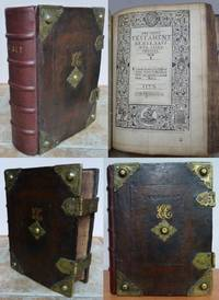 THE HOLY BYBLE ( BIBLE ) CONTEYNING THE OLDE AND NEWE TESTAMENT.  Whereunto is joyned the whole service, used in the Church of England.  1577. Set foorth by aucthoritie.