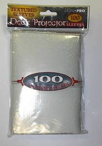 image of Ivory Textured Sleeves Deck Protector