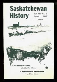 image of Saskatchewan History - four issues