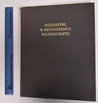 image of Mediaeval_Renaissance Manuscripts: Major Acquisitions Of The Pierpont Morgan Library, 1924-1974