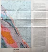 Fold-Out Geological Survey Map in Colour. Map 840a Tay River West of Fifth Meridian Alberta